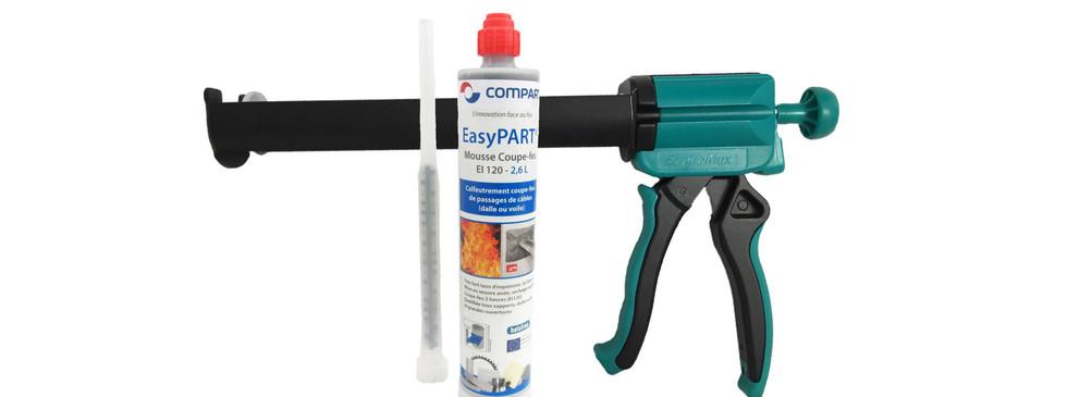 Gun for standard cartridges