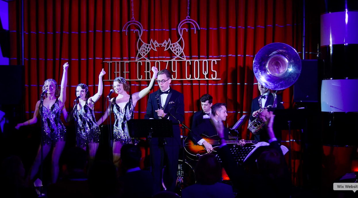Crazy Coqs, Live at Zedel