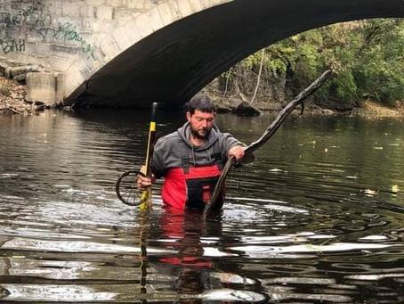 Creek cleanup a massive undertaking