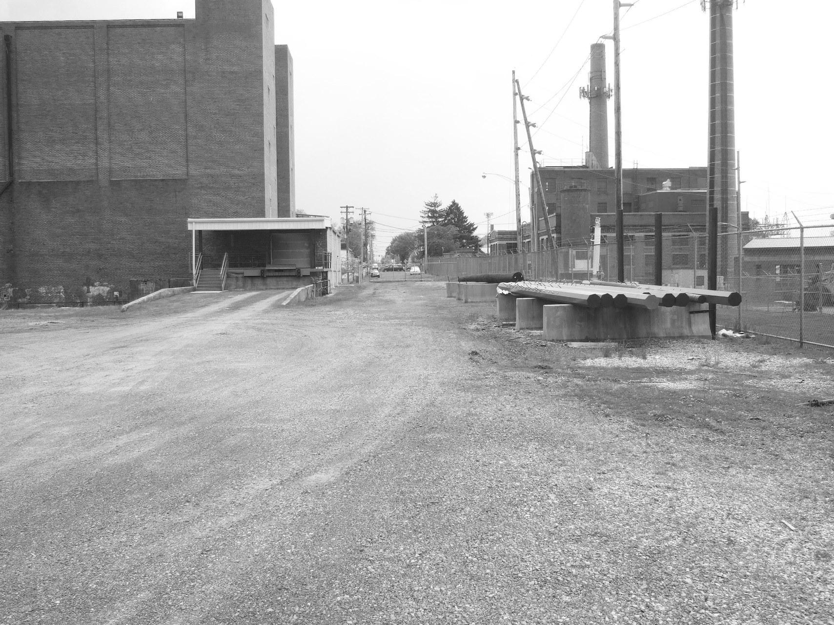 Greenway Walkway Before