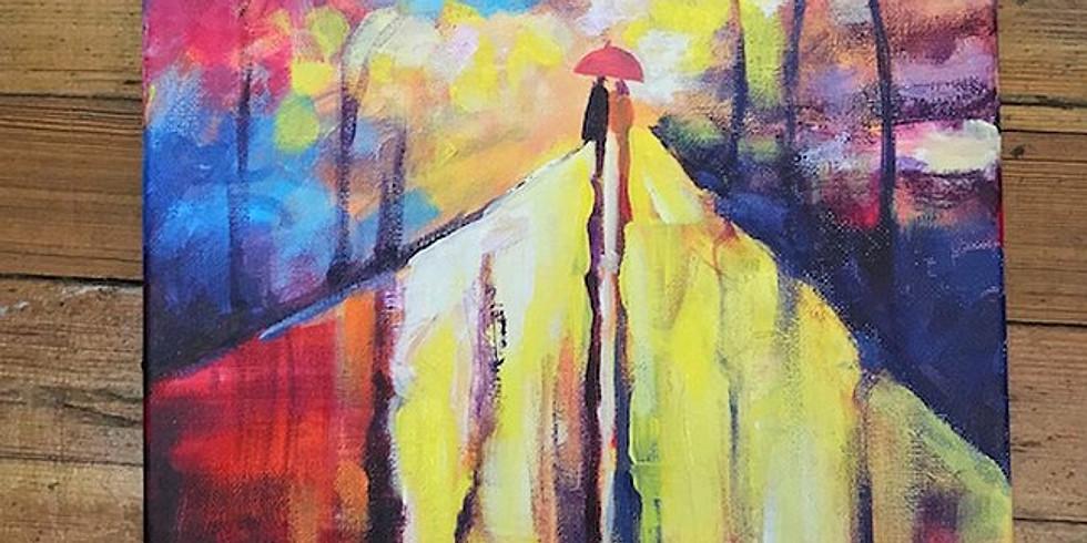 April Showers Paint Night