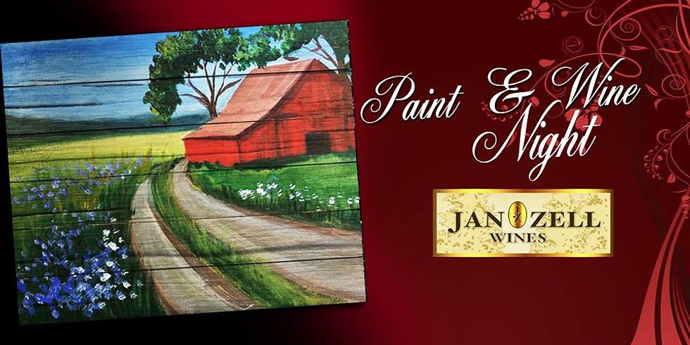 Spring Farm Paint & Wine Night