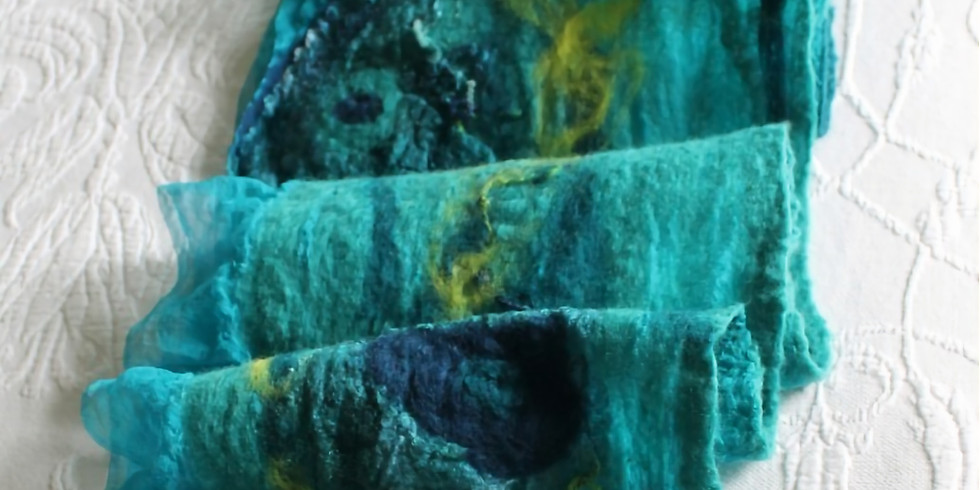 Felted Scarf with Barbara Pennett