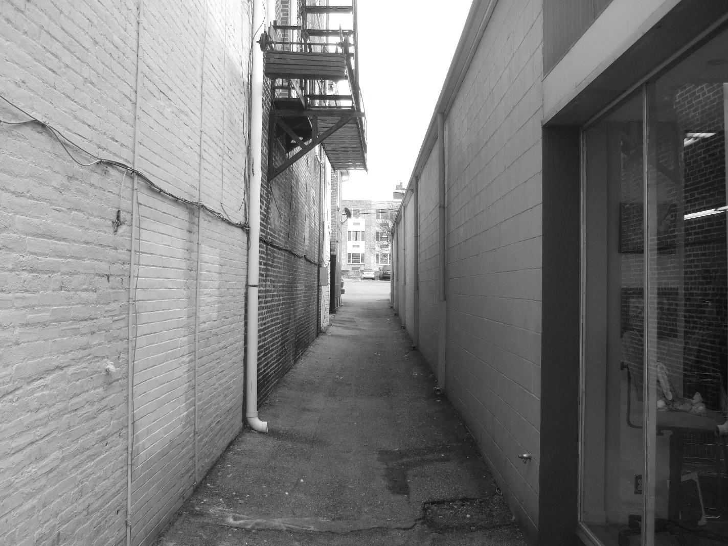 Alleyway Before