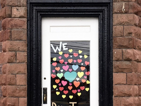 Downtown Chambersburg businesses put their hearts on display