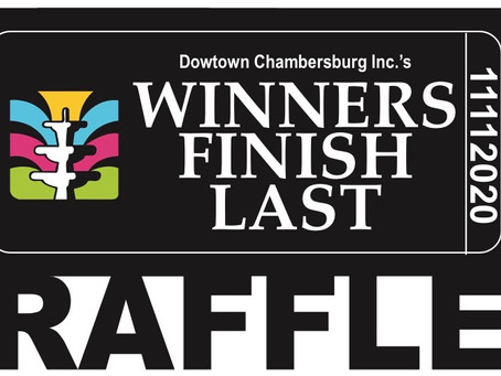 It's best to finish last in Downtown Chambersburg Inc.'s raffle