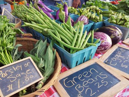 Farmers market bringing calm, carrots to North Square