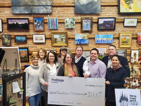 FirstEnergy Foundation support Women's Art at The Foundry