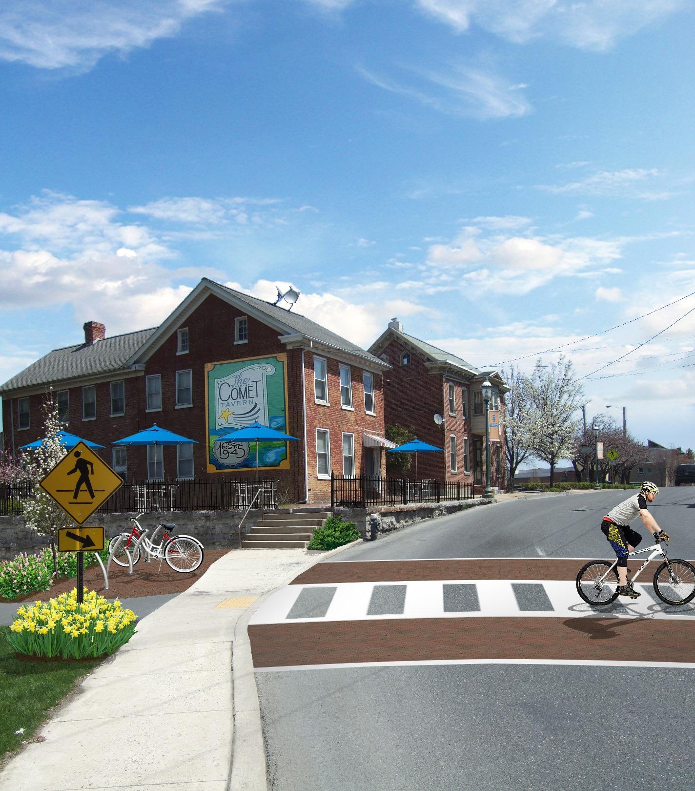 Bike Plaza After