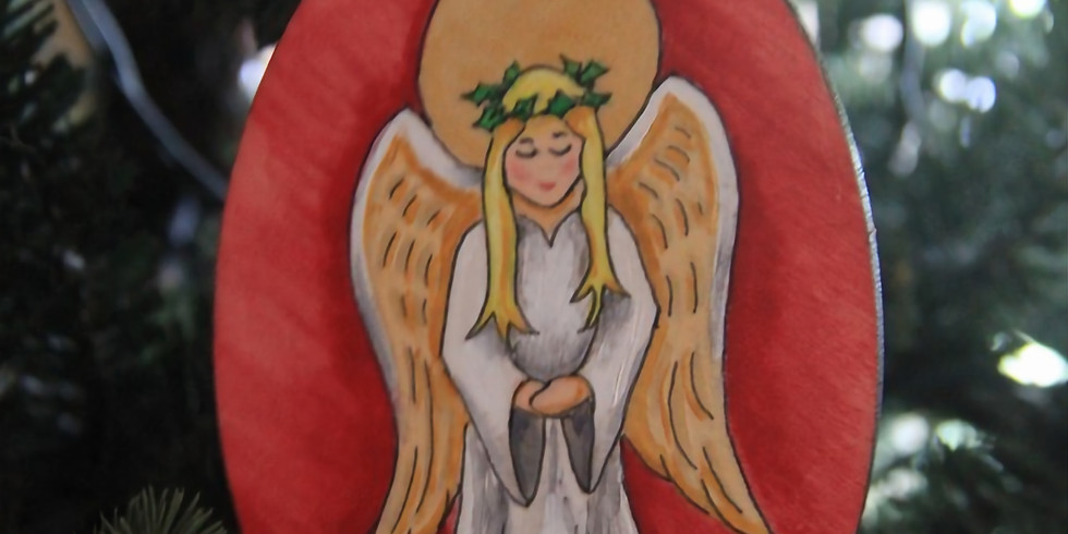Angel Ornament Painting Class