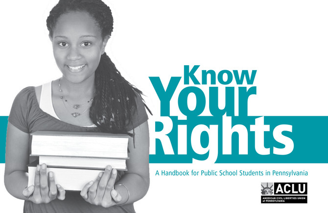 ACLU Handbook Informs Students of Their Rights