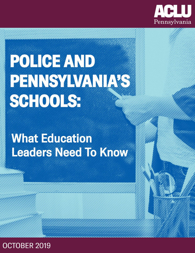 What Education Leaders Need to Know about School Policing