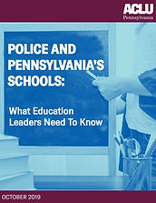Police and Pennsylvania Schools Report C