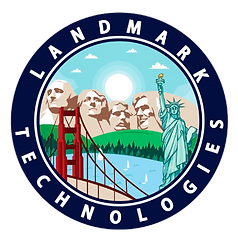 Landmark Technologies logo- Platinum Edge Media