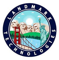 Landmark Technologies logo- Platinum Edge Media