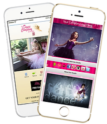 Express app dance studio cheer competition sample Platinum Edge Media