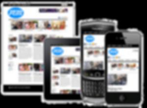 Responsive Website Design- Platinum Edge Media