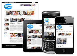 Responsive Website Design- Platinum Edge Media