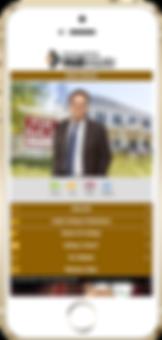 HiltonRealtor Business Card Sample Platinum Edge Media