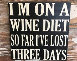 Winey Bar Decor