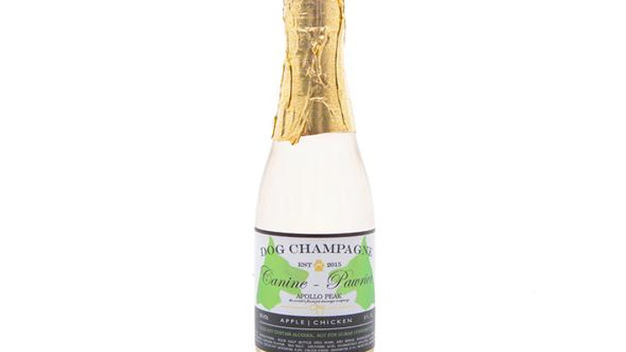 Winey Dogtails Pawrier Doggie Champagne