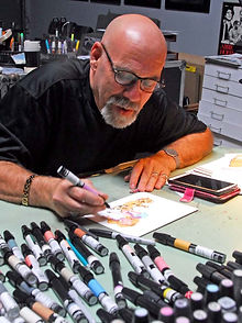 Neal Portnoy WineyBitches.co Ilustrator