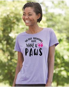 Valentine Wine Paws