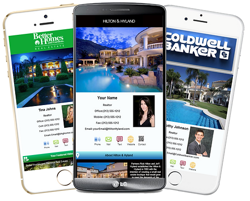 Realtors Mobile Business Cards