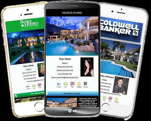 Realtors Mobile Business Cards