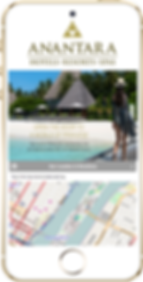 Express app sample Hotel location Platinum Edge Media