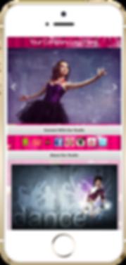 Express app dance studio sample Platinum Edge Media