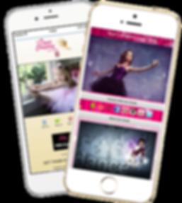 Express app Dance Studio samples Platinum Edge Media