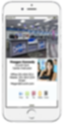 Personal Trainer Mobile Business Card Platium Edge Media