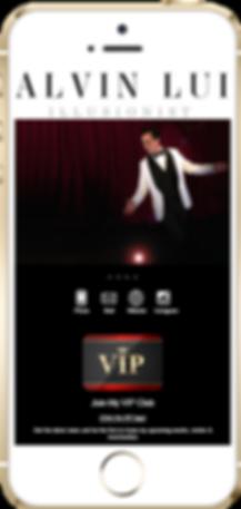 Express app entertainer sample Platinum Edge Media