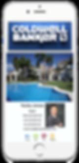 Coldwell Banker Mobile Business Card Sample Platinum Edge Media