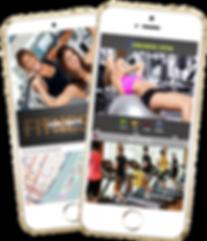 Express Mobile app sample Platinum Edge Media
