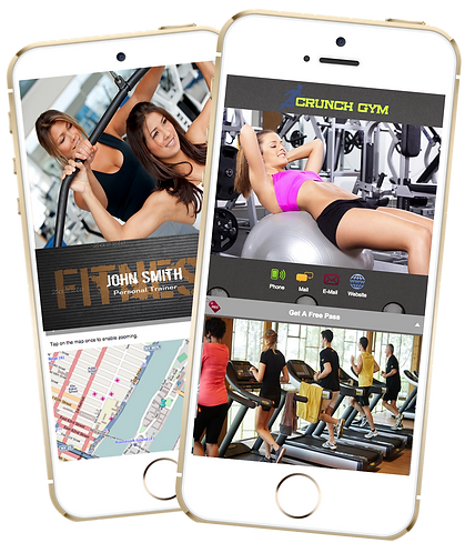 Express app  Gym Fitness sample Platinum Edge Media