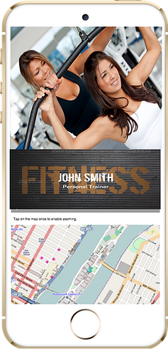 Express app  Fitness gym sample Platinum Edge Media