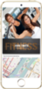 Gym Mobile App Sample Platinum Edge Media
