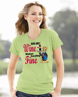 """Dogs & Wine"" Collection"