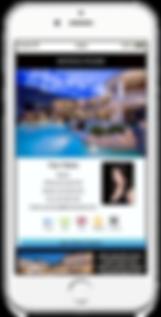 Hilton Hyland Mobile Business Card Sample Platinum Edge Media