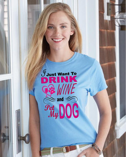 Drink Wine & Pet Dog Collection