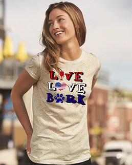 Live Love Bark RWB