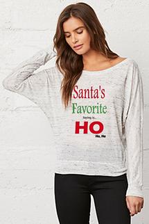Santas Fav Saying...