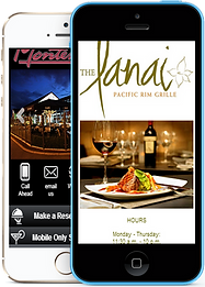 Signature Branded Mobile app sample Platinum Edge Media