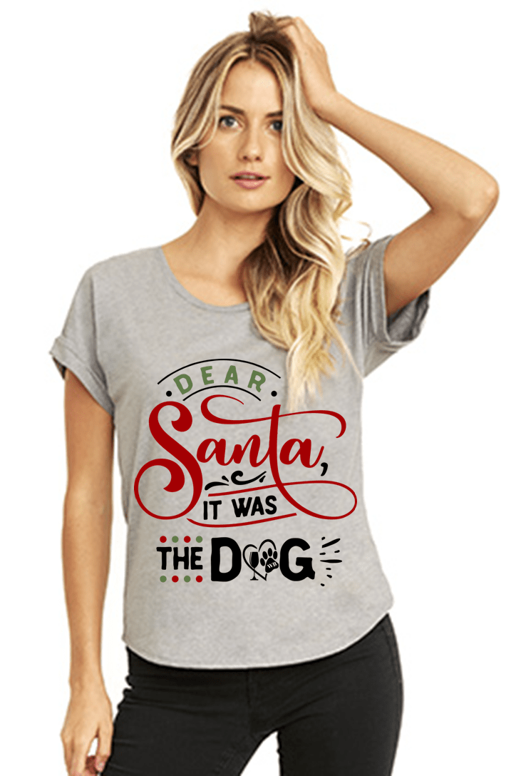 Dear Santa It was the Dog