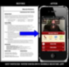 Signature appThe Resume App sample Platinum Edge Media
