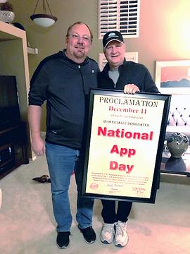 National App Day  Dec 11 proclamation