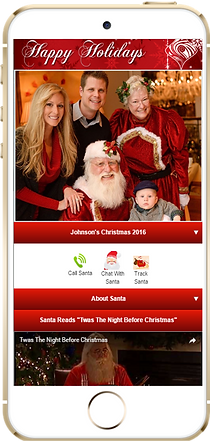 Santa Photo App Sample Platium Edge Media
