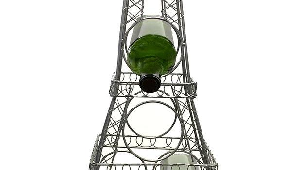 BOTTLE HOLDER, 28X15X8 EIFFEL TOWER
